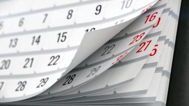 kartki z kalendarza
