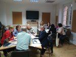 Uczestnicy spotkania autorów Programu szkolenia dla trenerów