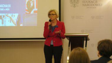 Sekretarz Stanu wMinisterstwie Edukacji Narodowej Marzena Machałek