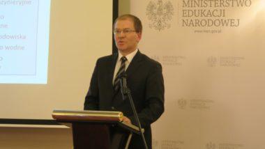 Naczelnik Wydziału wDepartamencie Architektury, Budownictwa iGeodezji Ministerstwa Infrastruktury Tomasz Gałązka