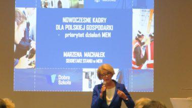 Przemówienie Sekretarz Stanu MEN Marzeny Machałek