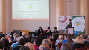 Panel dyskusyjny - widok sali plenarnej