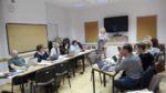 Zespół autorów przy pracy nad programem