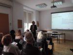Ekspert zadania 2. Monika Wojciechowska, uczestnicy spotkania