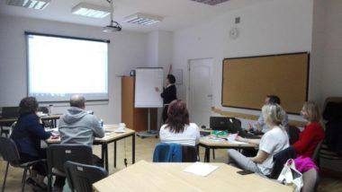 Autorzy programu szkolenia w trakcie pracy