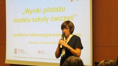 Wicedyrektor Ośrodka Rozwoju Edukacji dr Beata Jancarz-Łanczkowska