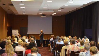 Otwarcie konferencji przezPanią Jadwigę Mariolę Szczypiń-Dyrektor ORE