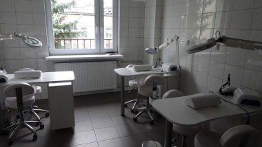 Pracownie dydaktyczne: Pracownia manicure w ZSP Małopolskiej Szkole Gościnności w Myślenicach