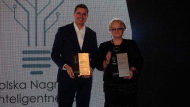 Wicedyrektor ORE Bożena Mayer-Gawron z Polską Nagrodą Inteligentnego Rozwoju 2018