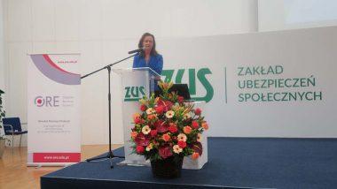 Wystąpienie Prof. Gertrudy Uścińskiej, Prezes ZUS