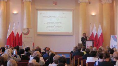 otwarcie konferencji Bozena Jodczyk Zespół ds. Promocji Zdrowia w Szkole