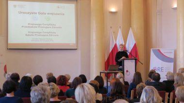 wystąpienie Zastępcy Dyrektora DWKI MEN Agnieszki Ludwin