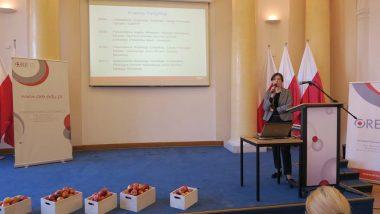 wystąpienie Krajowego Koordynatora Programu PPZ i SzPZ Valentiny Todorovskiej - Sokołowskiej