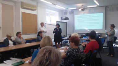 Pani Elżbieta Neroj Radca Generalny Ministerstwa Edukacji Narodowej przedstawia kluczowe postulaty dotyczące edukacji włączającej