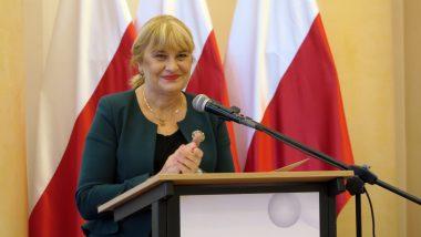 Wystąpienie Dyrektor ORE Jadwigi Marioli Szczypiń