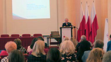 Dyrektor DWKI MEN Joanna Wilewska wśród uczestników konferencji