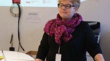 """Agnieszka Pietryka, kierownik projektu """"Wspieranie tworzenia szkół ćwiczeń"""""""