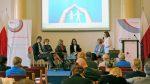 Uczestnicy panelu dyskusyjnego od lewej strony: dr Jakub Kołodziejczyk, Joanna Berendt, dr Barbara Wolny, dr Lidia Zabłocka-Żytka, Teresa Szopińska-Grodzka, Joanna Kulesza