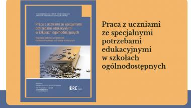 okładka książki Praca z uczniami ze specjalnymi potrzebami edukacyjnymi w szkołach ogólnodostępnych