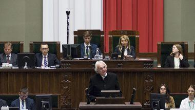 Wystąpienie wicedyrektora ORE S. Zubka podczas XXV sesji Sejmu Dzieci i Młodzieży