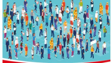 """Baner konferencji: """"Umiejętności i kompetencje zdobywane w organizacjach społeczeństwa obywatelskiego – jak je dostrzec i docenić na rynku pracy"""