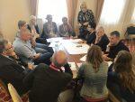 Pierwszy dzień spotkania – Open space – wymiana doświadczeń między samorządowcami