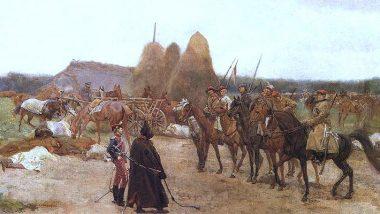 """Józef Chełmoński """"Epizod z Powstania 1863 r."""""""