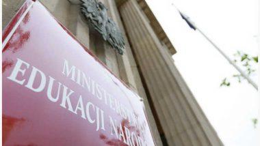 tablica Ministerstwa Edukacji Narodowej