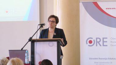Wystąpienie Anny Zalewskiej Minister Edukacji Narodowej