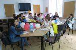 Uczestnicy podczas sesji warsztatowej prowadzonej przezFundację Uniwersytet Dzieci