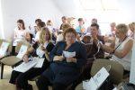 Uczestnicy podczas sesji warsztatowej prowadzonej przezCNK Kopernik