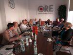 Goście z Macedonii i pracownicy ORE