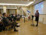 wicedyrektor ORE Bożena Mayer-Gawron otwiera seminarium