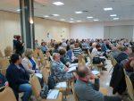 Widok sali plenarnej z uczestnikami spotkania