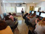 Uczestnicy podczas warsztatów dla nauczycieli języków obcych